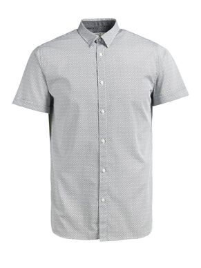 MICRO PRINT SHORT SLEEVED SHIRT