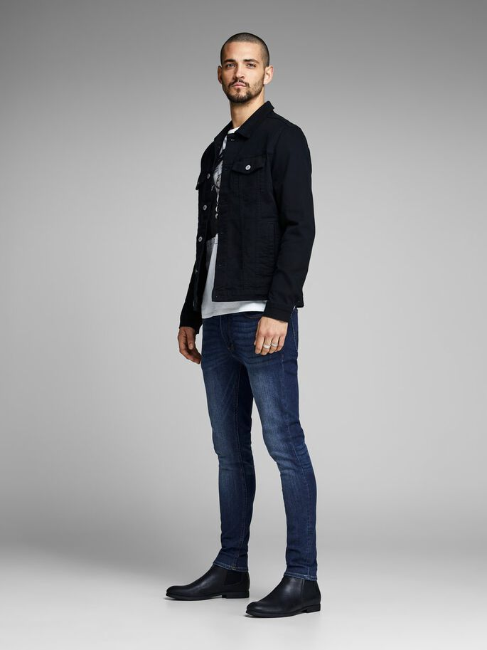LIAM ORIGINAL AM 014 JEAN SKINNY, Blue Denim, large