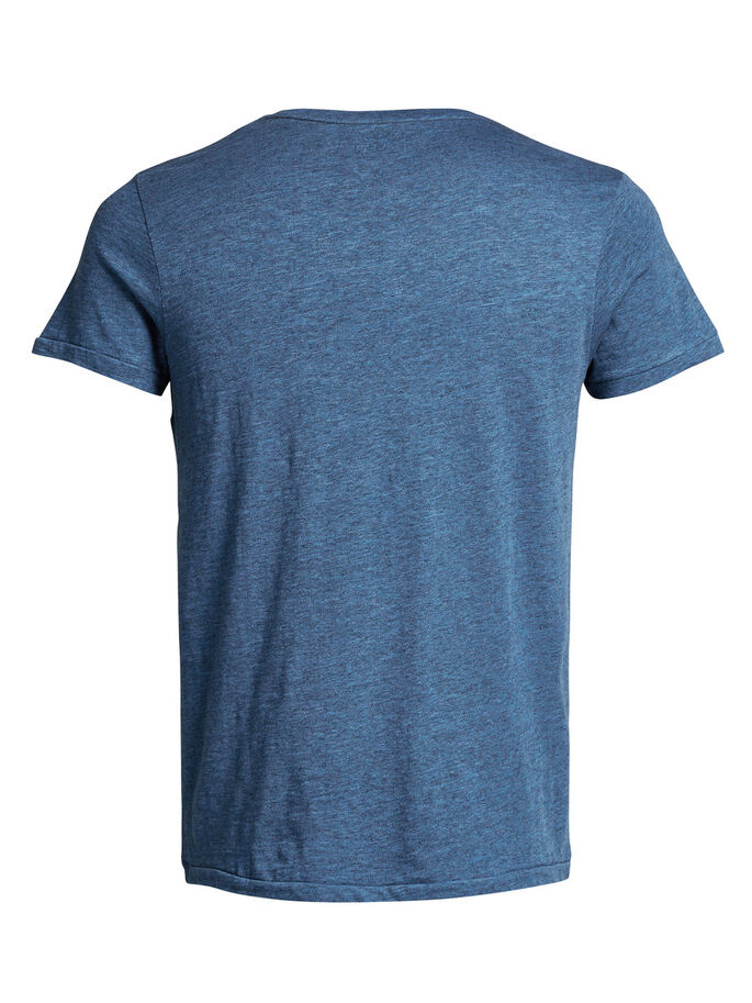 PRINTET T-SHIRT, Federal Blue, large
