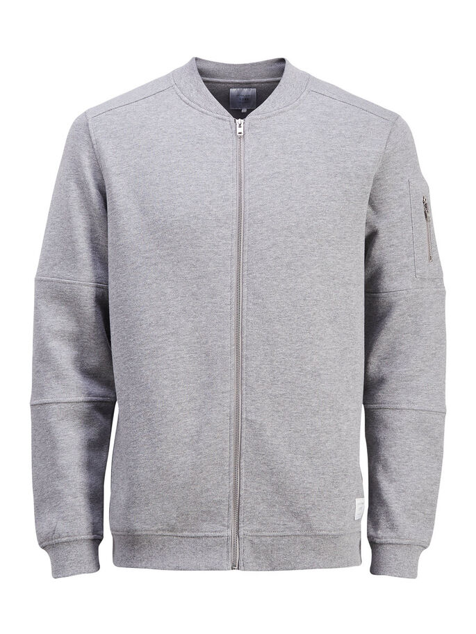 CLASSIQUE SWEAT-SHIRT, Light Grey Melange, large