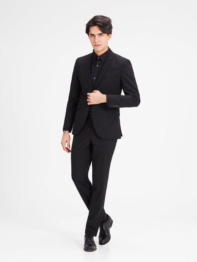 BLACK SUIT, Black, large