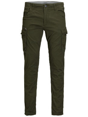 PAUL CHOP WW OLIVE NIGHT PANTALON CARGO