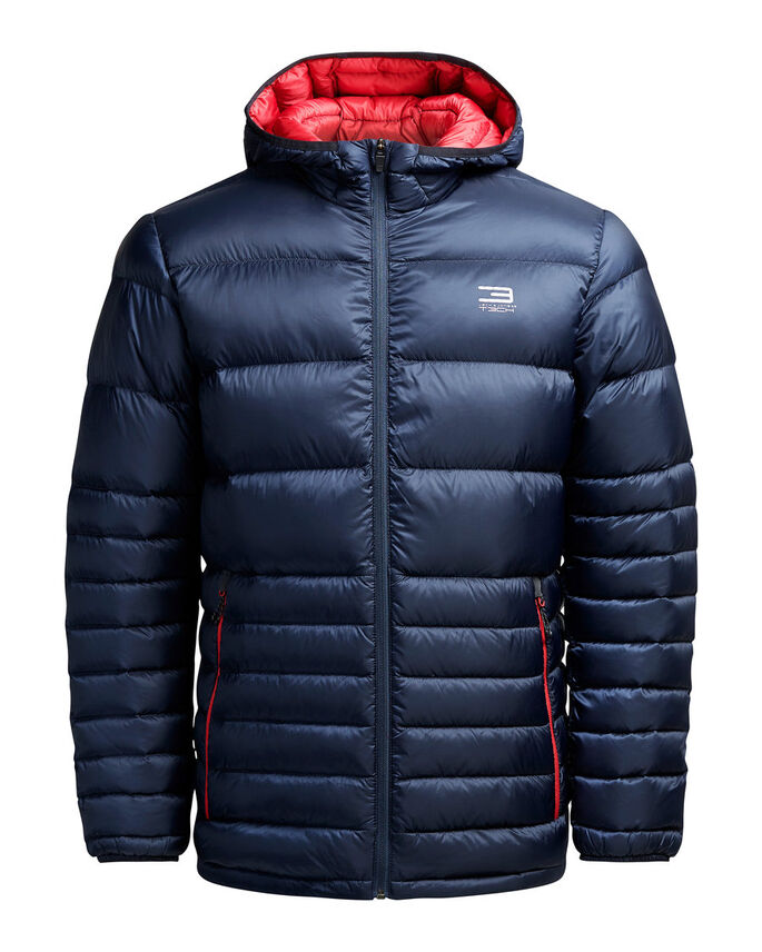 DOWN JACKET, Navy Blazer, large