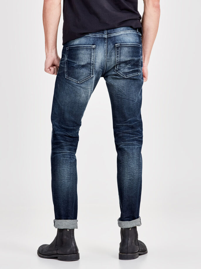 TIM ORIGINAL JJ 977 JEANS SLIM FIT, Blue Denim, large