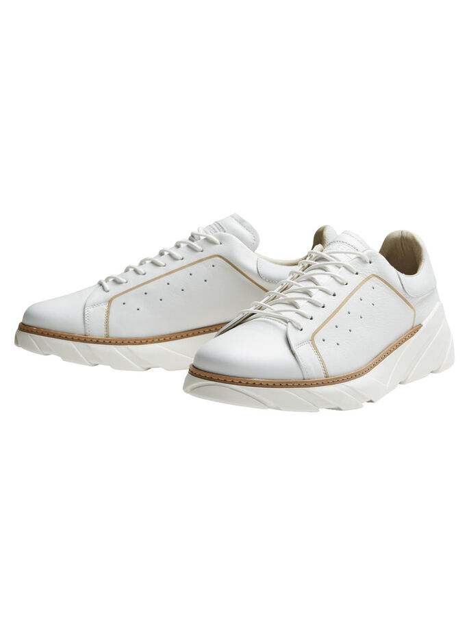 ESCLUSIVE SNEAKERS, Bright White, large