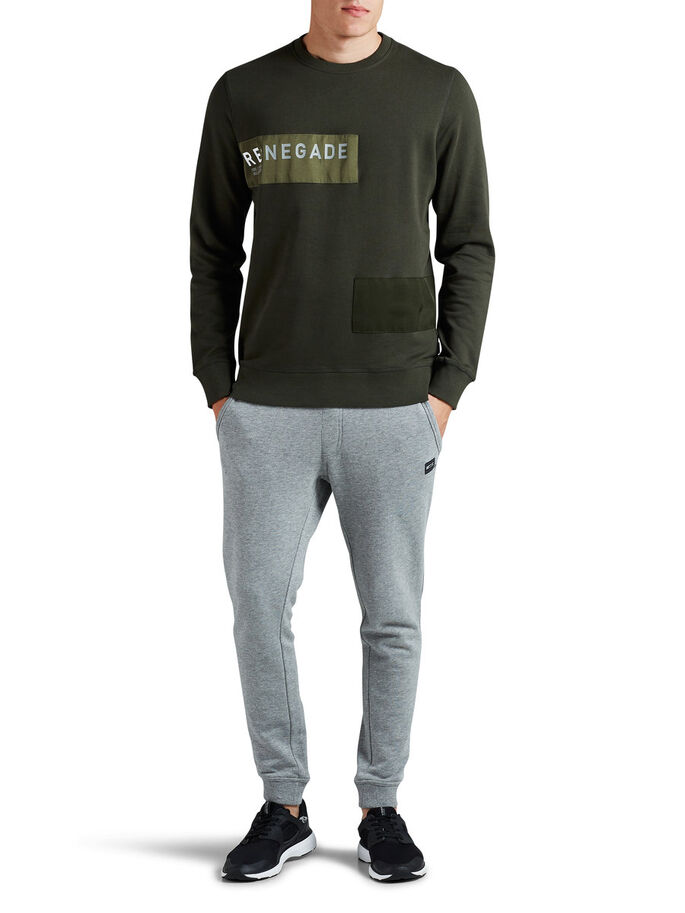 DETALJERT SWEATSHIRT, Rosin, large