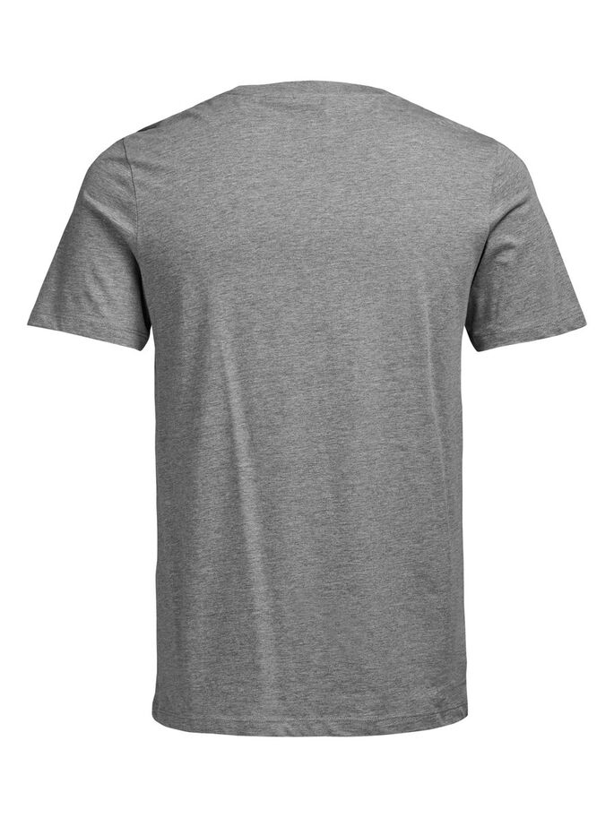 GRAFIK- T-SHIRT, Light Grey Melange, large