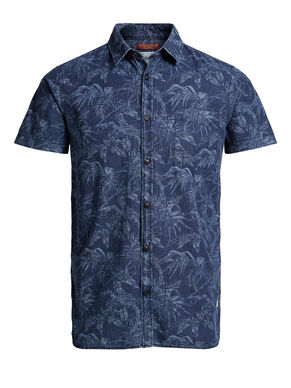 FLORAL PRINT SHORT SLEEVED SHIRT