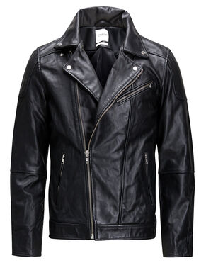 ROCKER LEATHER JACKET