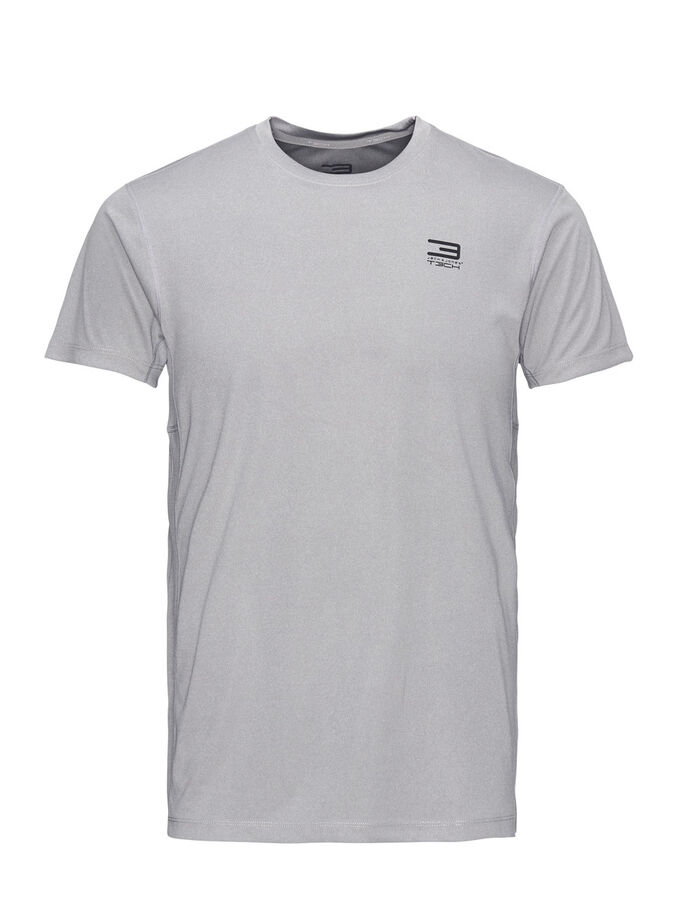 PERFORMANCE SPORTS T-SHIRT, Light Grey Melange, large