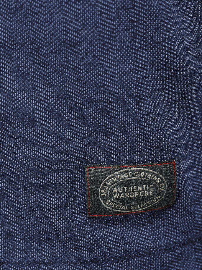 DETAILED T-SHIRT, Mood Indigo, large
