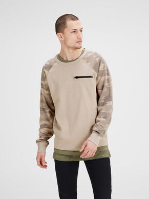 CAMOUFLAGE SWEAT-SHIRT
