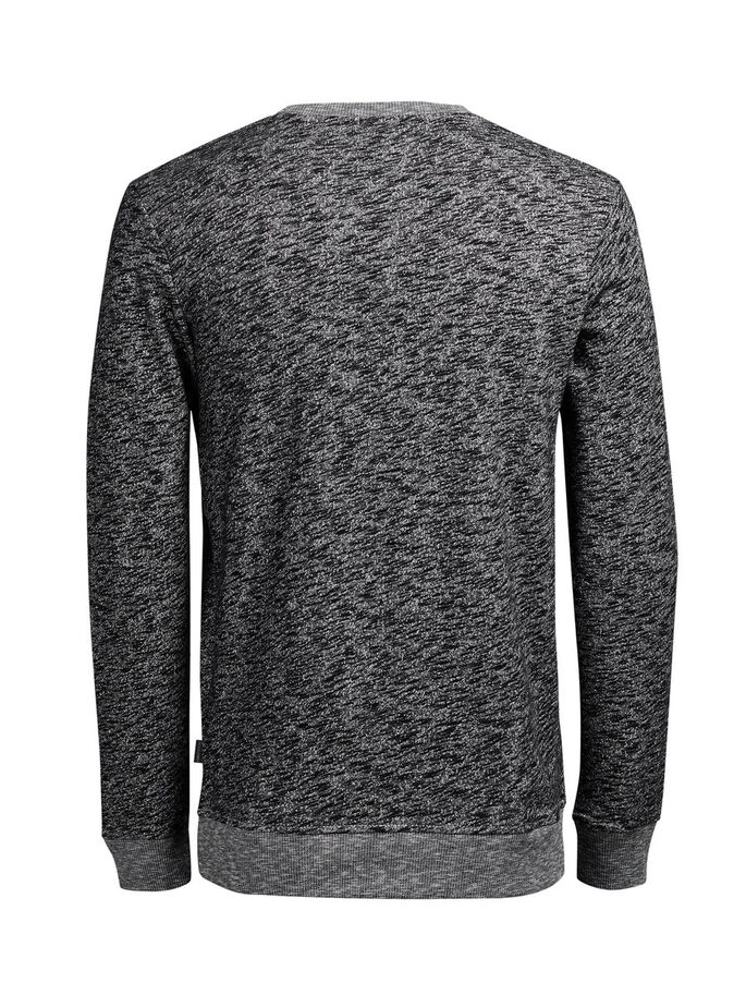 CASUAL SWEATSHIRT, Dark Grey Melange, large