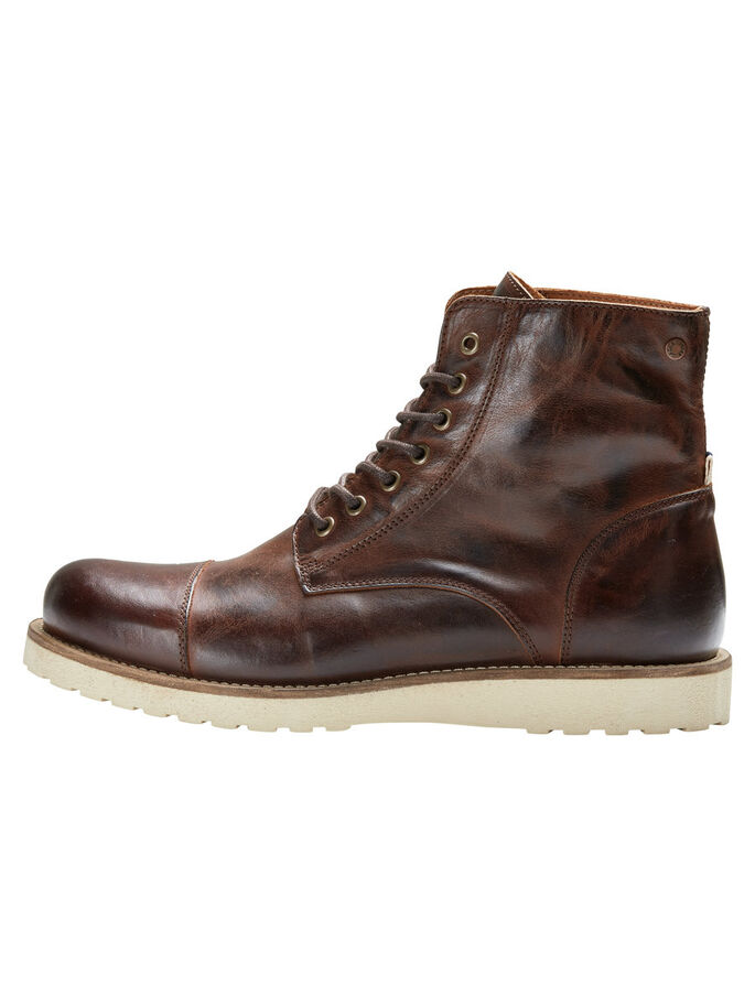 SKINN BOOTS, Brown Stone, large