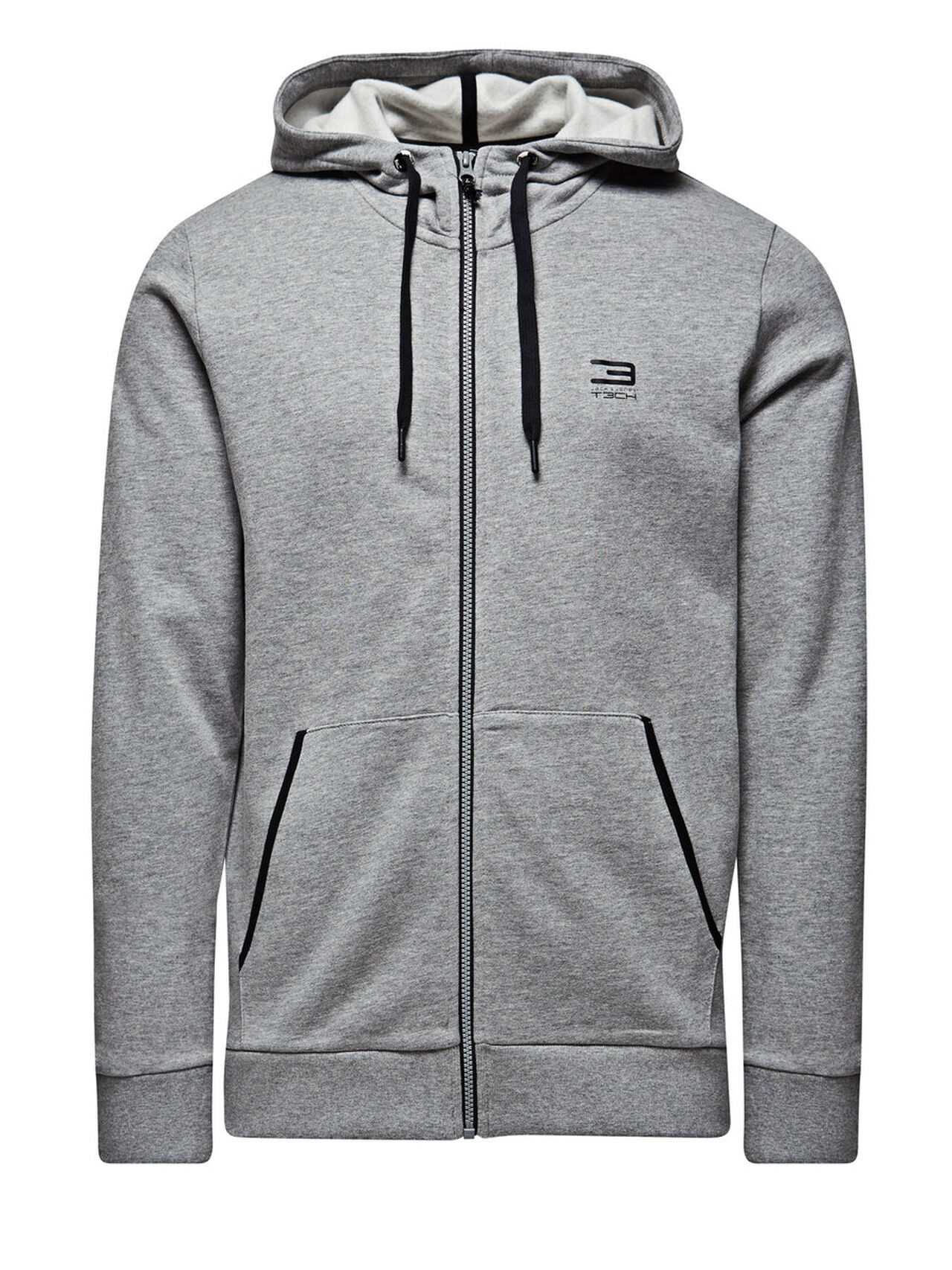 Jack & Jones Tech JJSLIDER Sweatvesten Grijs