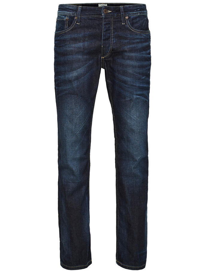 CLARK ORIGINAL JOS 318 REGULAR FIT JEANS, Blue Denim, large