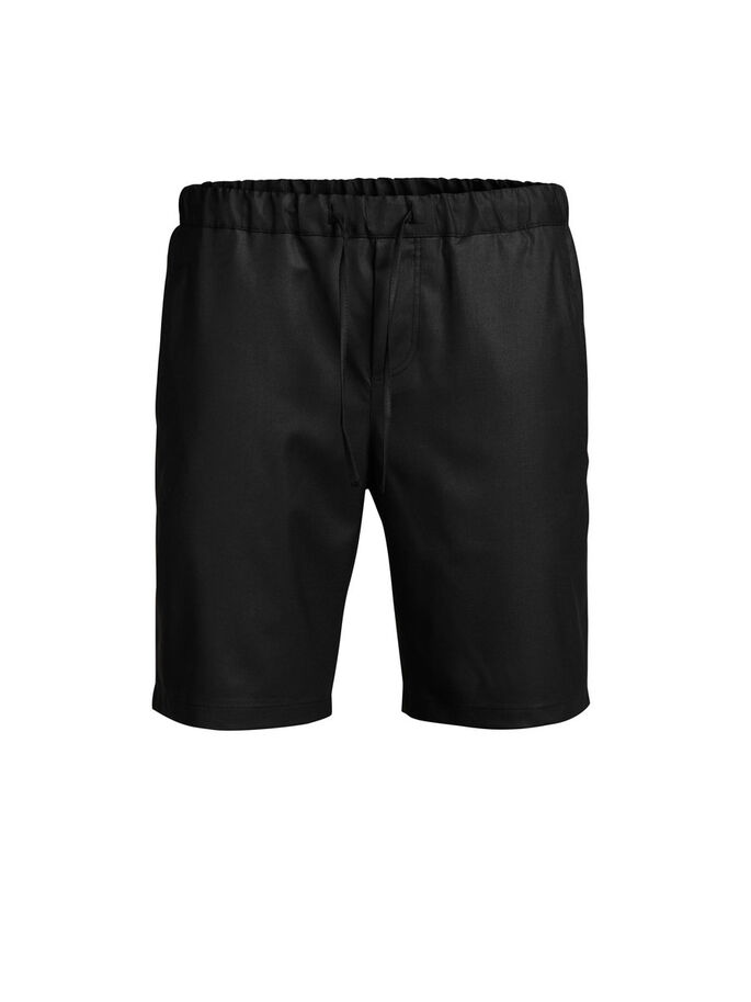 TAILLIERTE SHORTS, Black, large