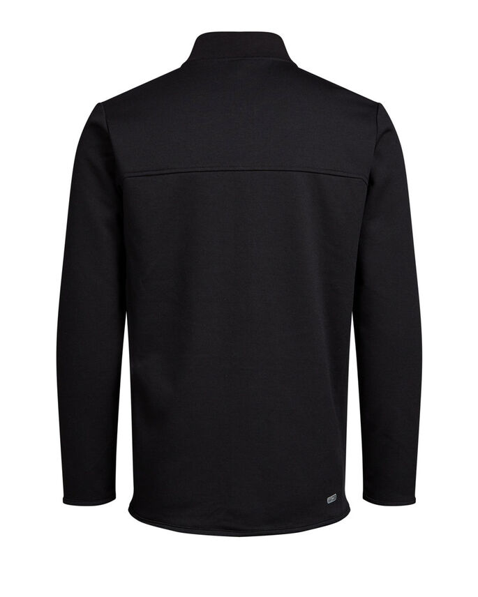 BASEBALL SWEATSHIRT, Black, large