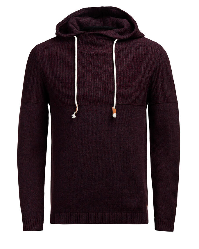 CASUAL STRIKKET PULLOVER, Port Royale, large