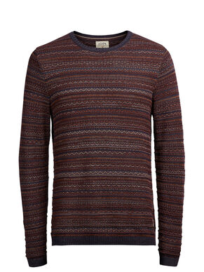 MAILLE JACQUARD PULLOVER