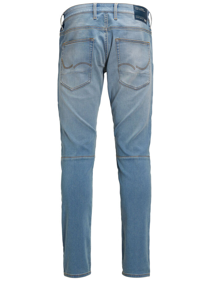 GLENN RYDER GE 10 SLIM FIT JEANS, Blue Denim, large