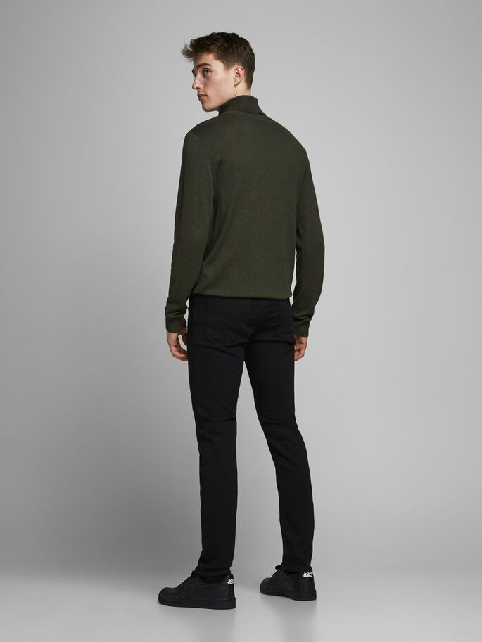 GLENN FÉLIX AM 046 JEANS SLIM FIT, Black Denim, large