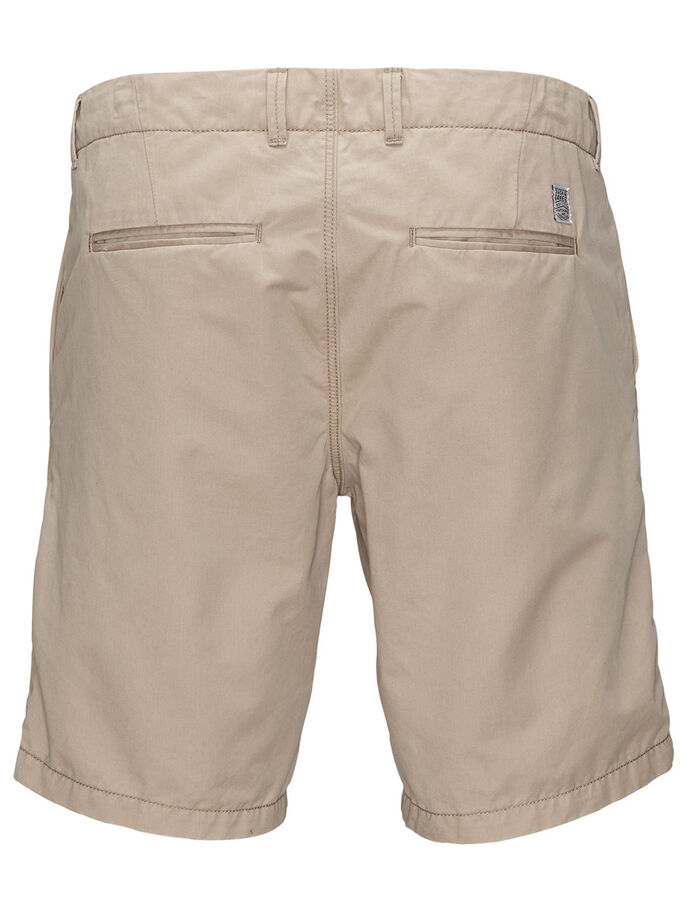 GRAHAM AKM 202 CHINO SHORTS, White Pepper, large