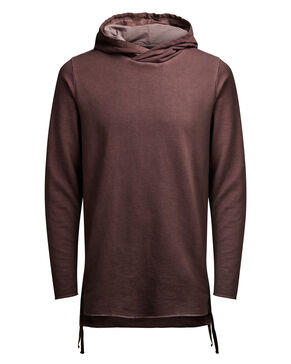 LONGER FIT SUDADERA CON CAPUCHA