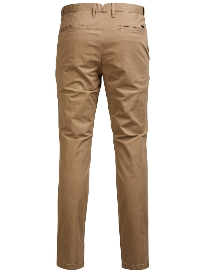 JJIMARCO JJENZO TAN ONE CHINO, Tan, large