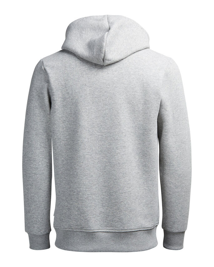 GRAFIK- HOODIE, Light Grey Melange, large