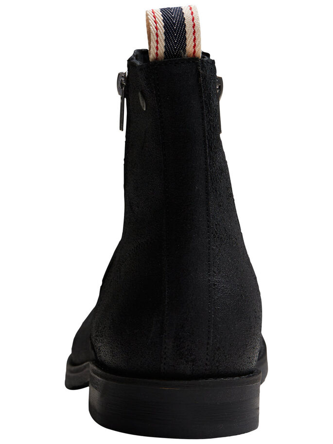 VINTAGE- STIEFEL, Black, large