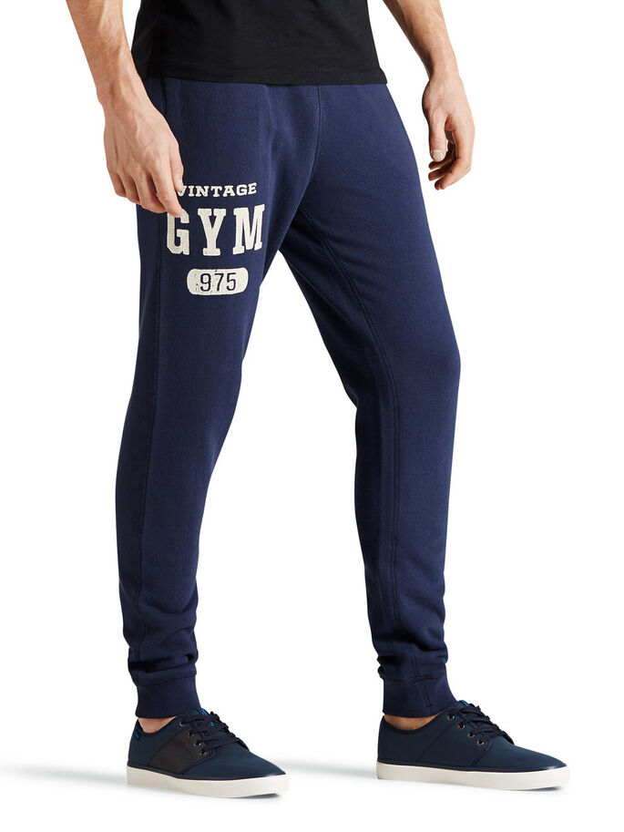 TRACK & FIELD SWEAT PANTS, Mood Indigo, large
