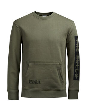 DETAILED SWEATSHIRT