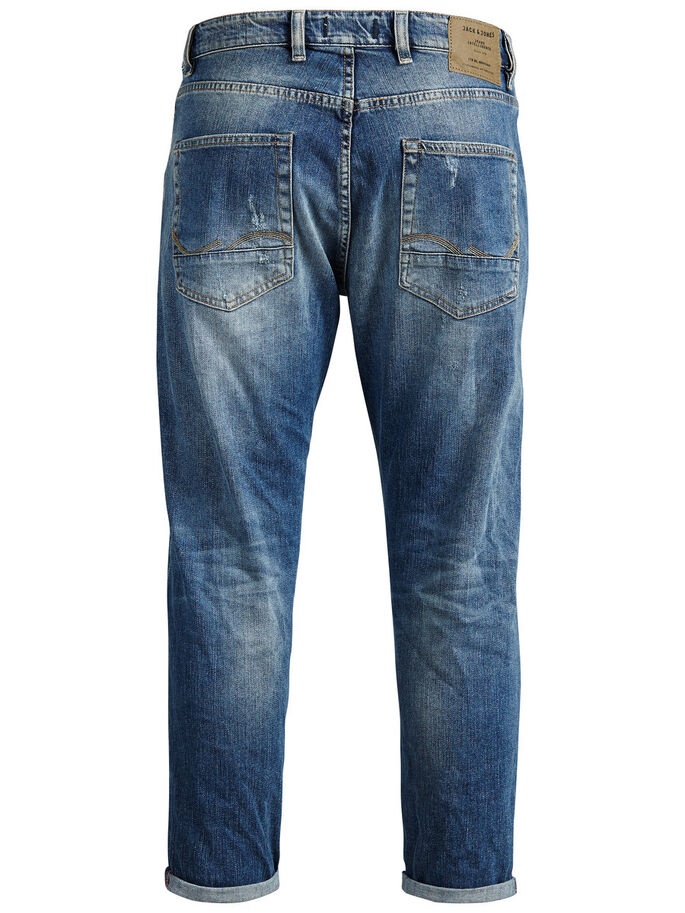 FRANK CROPPED BL 675 JEAN COUPE CLASSIQUE, Blue Denim, large