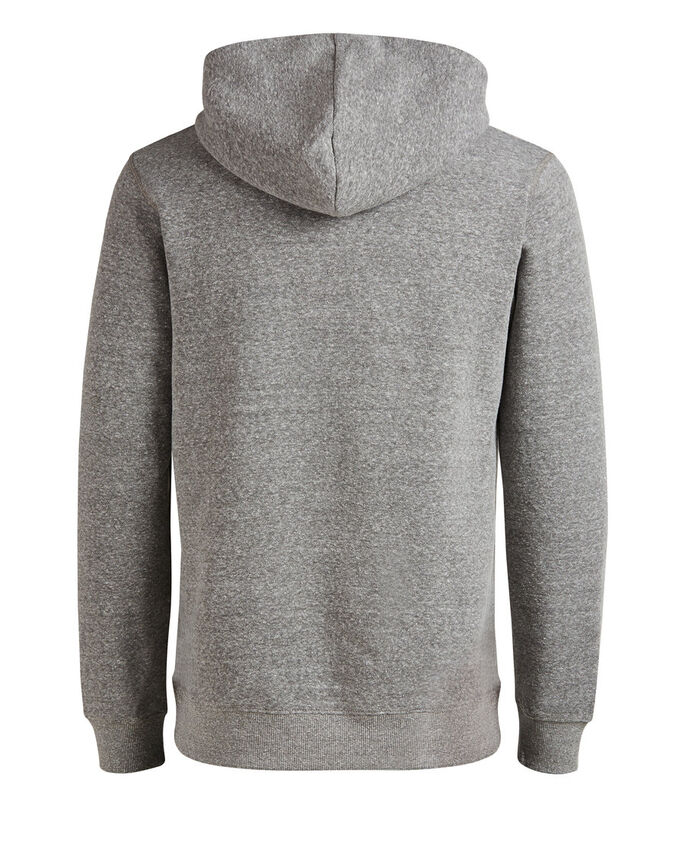KLASSISCHER HOODIE, Light Grey Melange, large