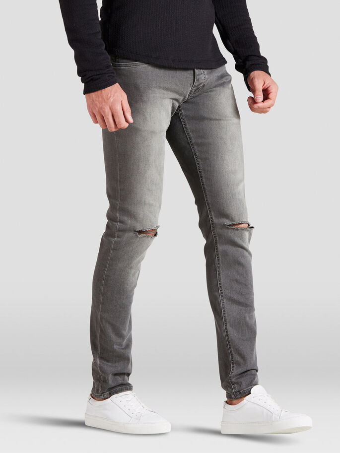 GLENN ORIGINAL AM 110 JEAN SLIM, Grey Denim, large