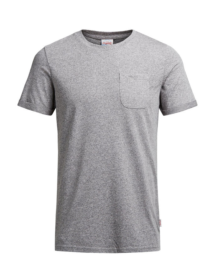 MELANGE- T-SHIRT, Light Grey Melange, large