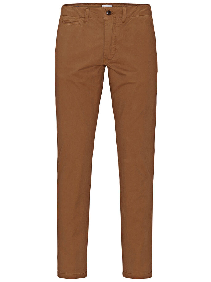 CODY GRAHAM AKM 201 CHINOS, Dark Camel, large