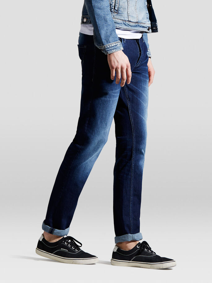 TIM ORG SC 968 JEAN SLIM, Blue Denim, large