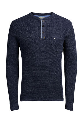 COLLETTO GRANDAD PULLOVER