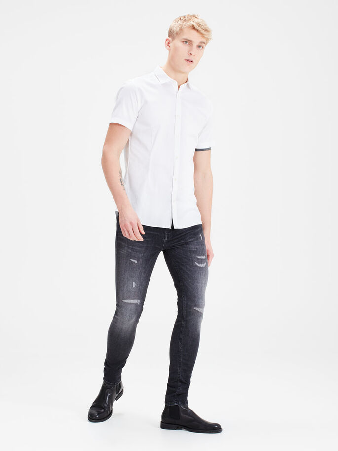 LIAM ORIGINAL 989 JEANS SKINNY FIT, Black Denim, large
