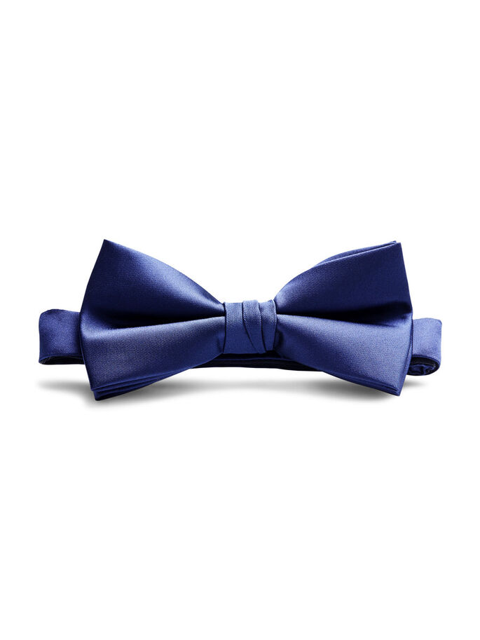 CLASSIC BOW TIE, Black Navy, large