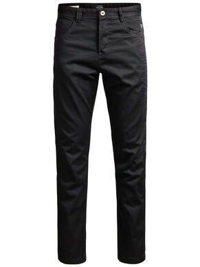 STAN ISAC AKM 249 BLACK CHINOS