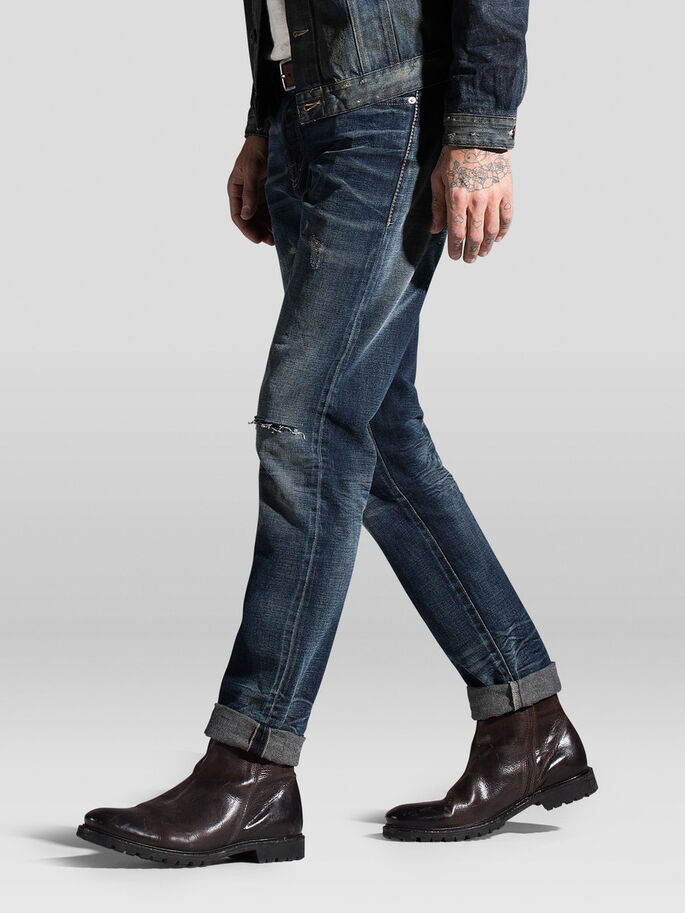 MIKE ICON RDD R095 COMFORT FIT-JEANS, Blue Denim, large