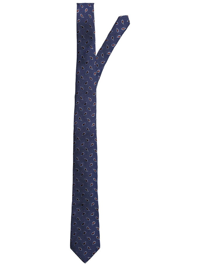 WOOL TIE, Navy Blazer, large