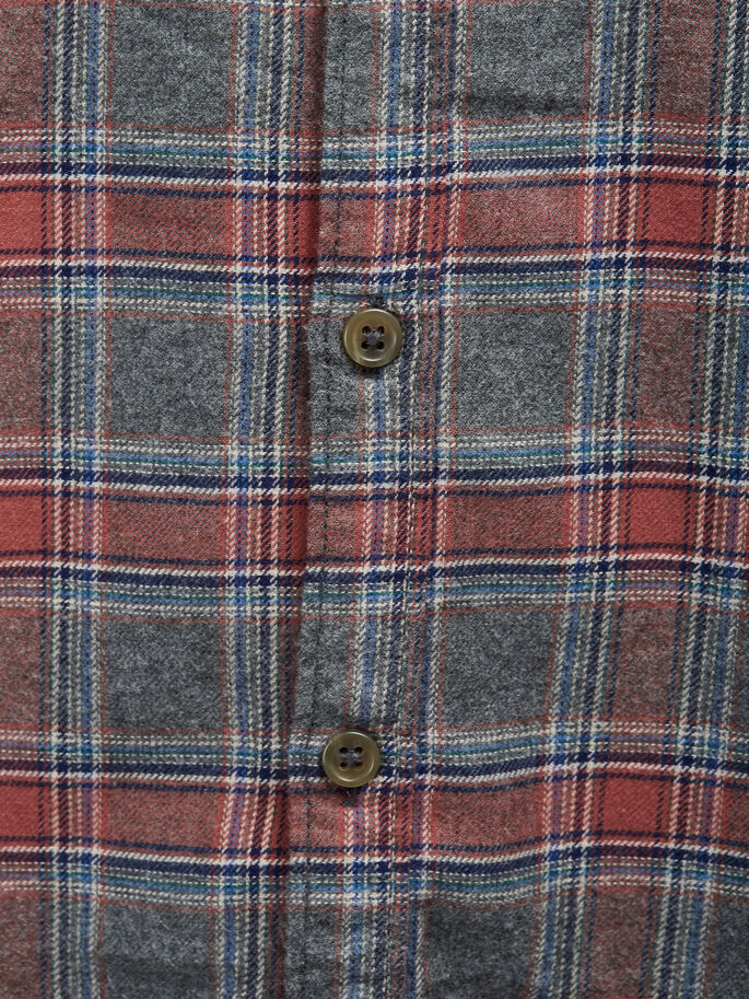 CHECKED LONG SLEEVED SHIRT, Aragon, large