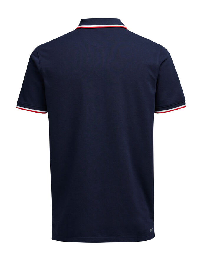 KLASSISK POLO, Navy Blazer, large