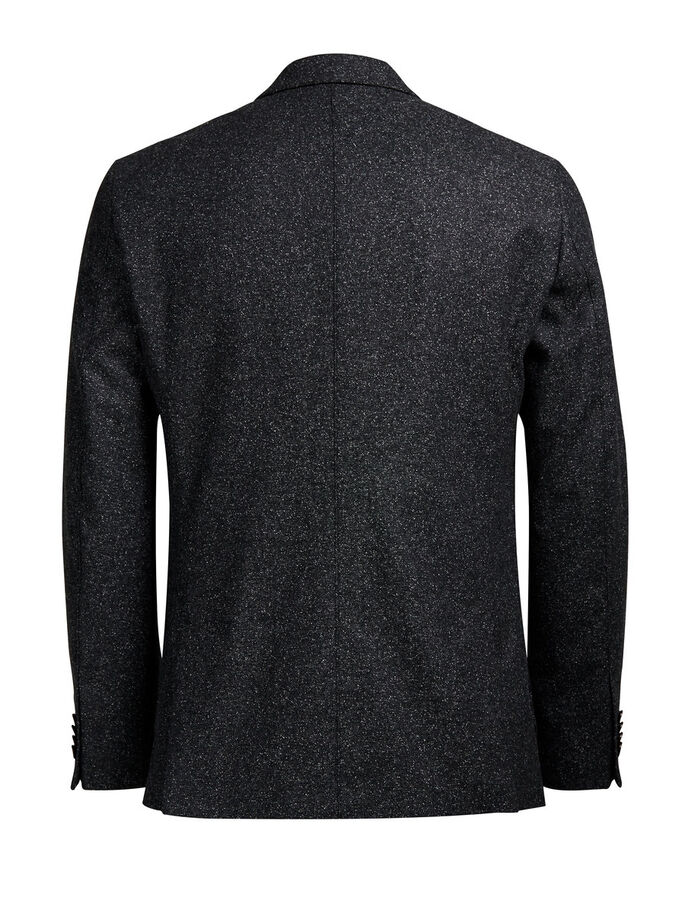 MELANGE- BLAZER, Dark Grey, large