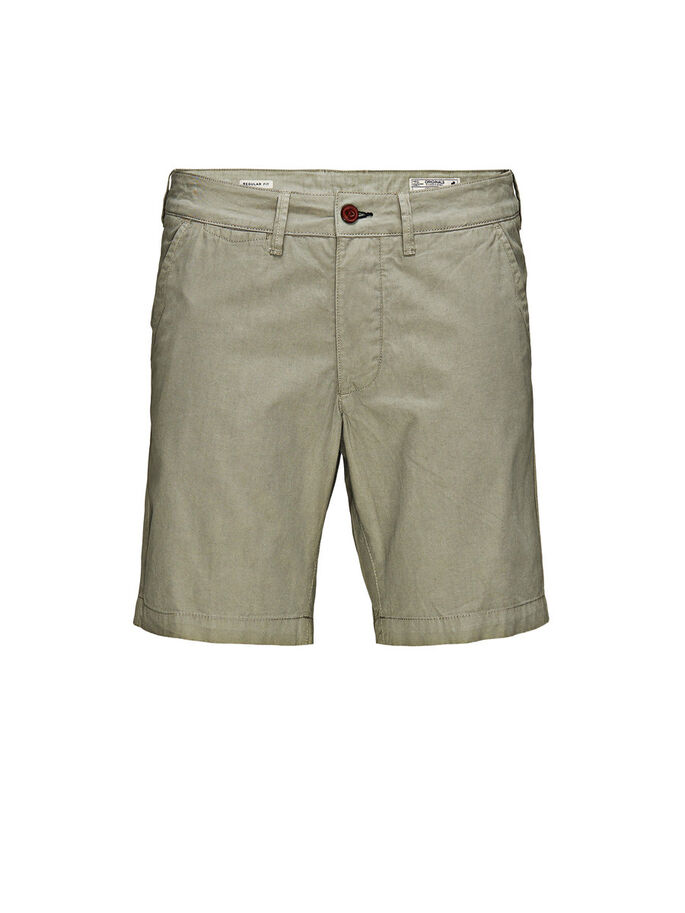 BASIC CHINO SHORT, Moon Mist, large