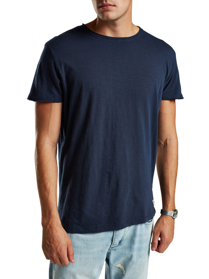 BASIC T-SHIRT, Mood Indigo, large